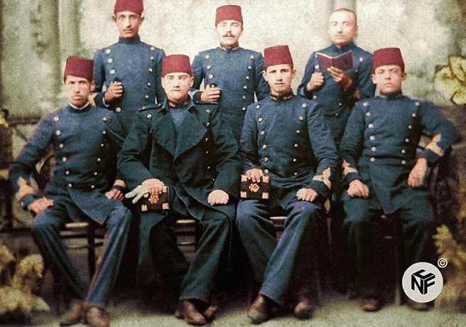 Mustafa Kemal Atatürk'ün Harbiye Yıllarındaki En Eski Resmi
