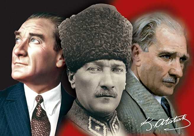 Üçlü Bir Atatürk Kompozisyonu