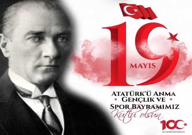19 Mayıs Konulu Atatürk Resmi