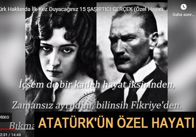 Atatürk'ün Özel Hayatı Hakkında Bilmedikleriniz