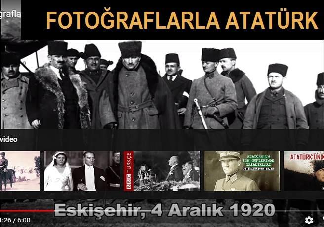 Fotoğraflarla Atatürk'ün Hayatı Videosu