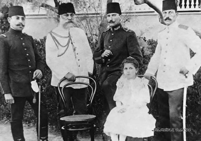 Mustafa Kemal ve Sancak Kumandanı İbrahim Paşa