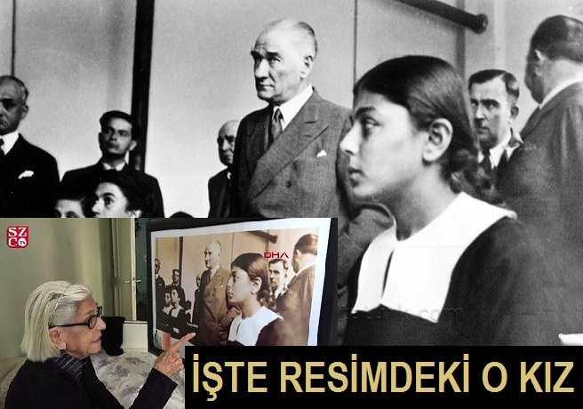 Resimdeki O Kız Atatürk'ün Ziyaretini Anlattı